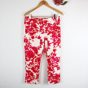 [NY&C] 7th Avenue Suiting Collection Floral Pants